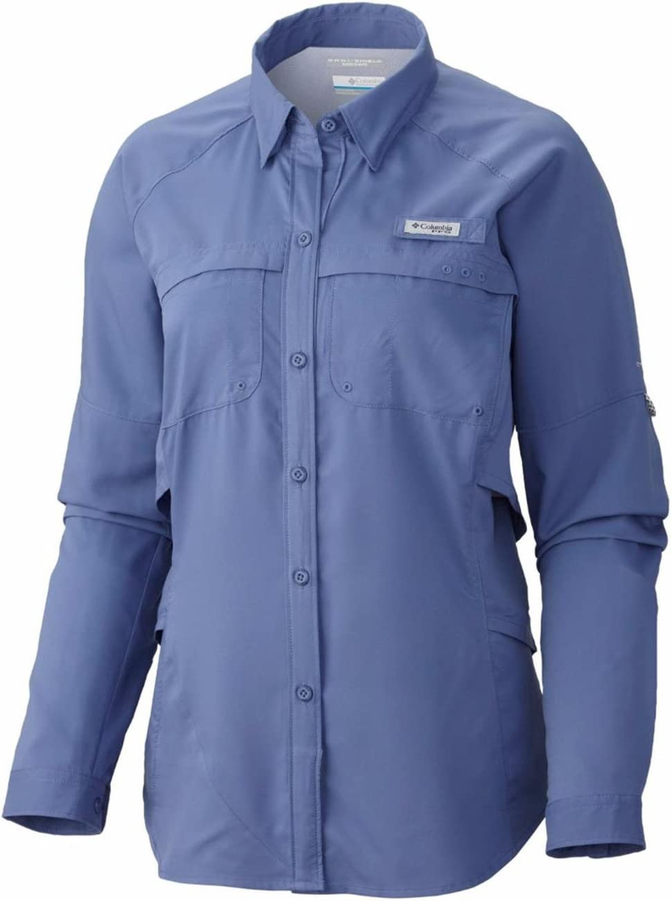 Columbia Airgal Camisa de Manga Larga para Mujer, Mujer, Color Bluebell, tamaño Extra-Small: Amazon.es: Deportes y aire libre