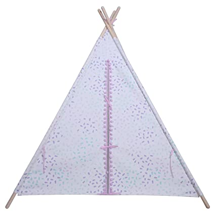 new product 634df 5a241 Amazon.com: Pom Pom Teepee - Purple/Mint - Pillowfort: Toys ...