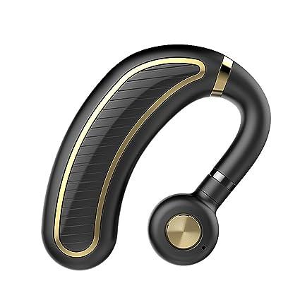 auriculares inalámbricos Bluetooth Colgando Oído Deportes Conducción Mini Oídos Súper Pequeños Llevando Espera Larga Universal