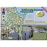 TourenAtlas Wasserwandern / TA1 Schleswig-Holstein-Unterelbe: Wassersport- und Radwanderatlas