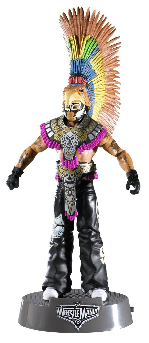 amazon com wwe entrance greats rey mysterio figure toys u0026 games