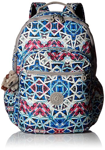 Seoul L Solid Laptop Backpack, Brightside Sky by Kipling