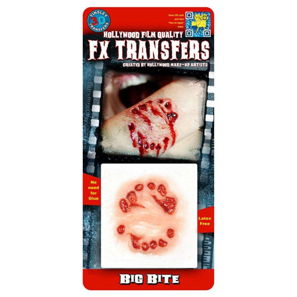 Tinsley Transfers  Big Bite, Flesh/Multi, One Size by Tinsley Transfers