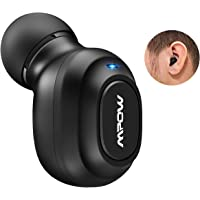 Mpow EM13 Mini Bluetooth Wireless Earbud, Bluetooth V4.1 Invisible Earpiece 3 Sized Ear Plugs, Bluetooth Headphone Magnetic USB Charger, Mic Hands-Free Calls Cellphone as Android, Apple, Samsung PC