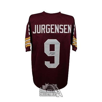 bc09c3749d4 Sonny Jurgensen Signed Jersey - HOF Red COA - JSA Certified - Autographed  NFL Jerseys