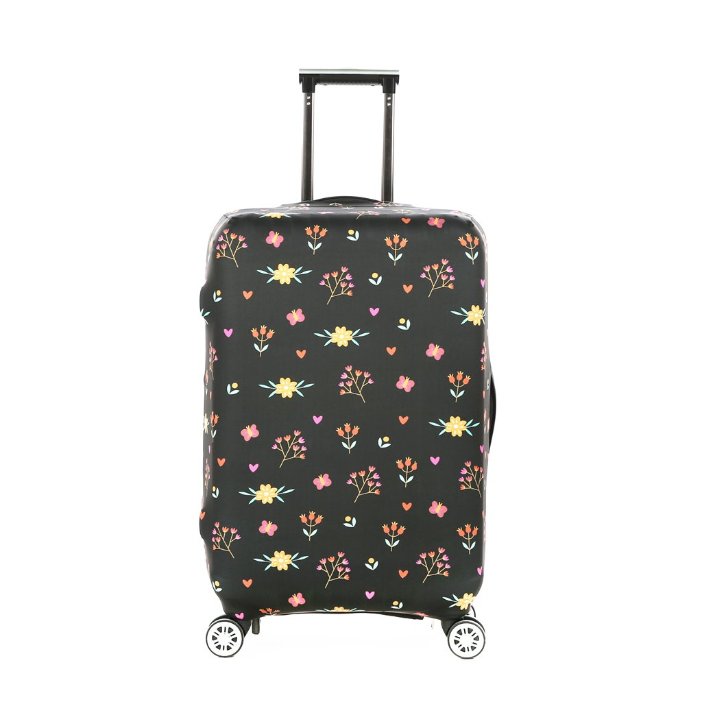 3ccee1c41341 Galleon - Fvstar Multi Color Floral Washable Travel Luggage Cover ...