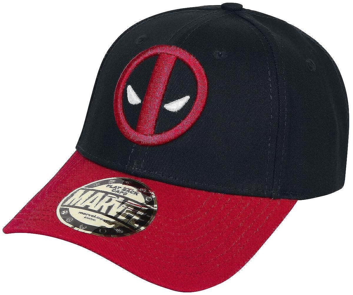 Deadpool Logo Casquette Noir/Rouge 2963