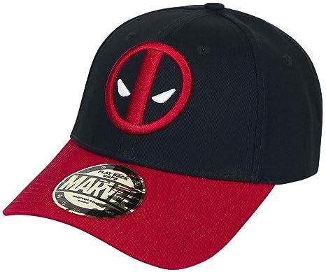 ec5743596dbda Casquette Deadpool Marvel - Baseball Logo: Amazon.fr: Jeux et Jouets
