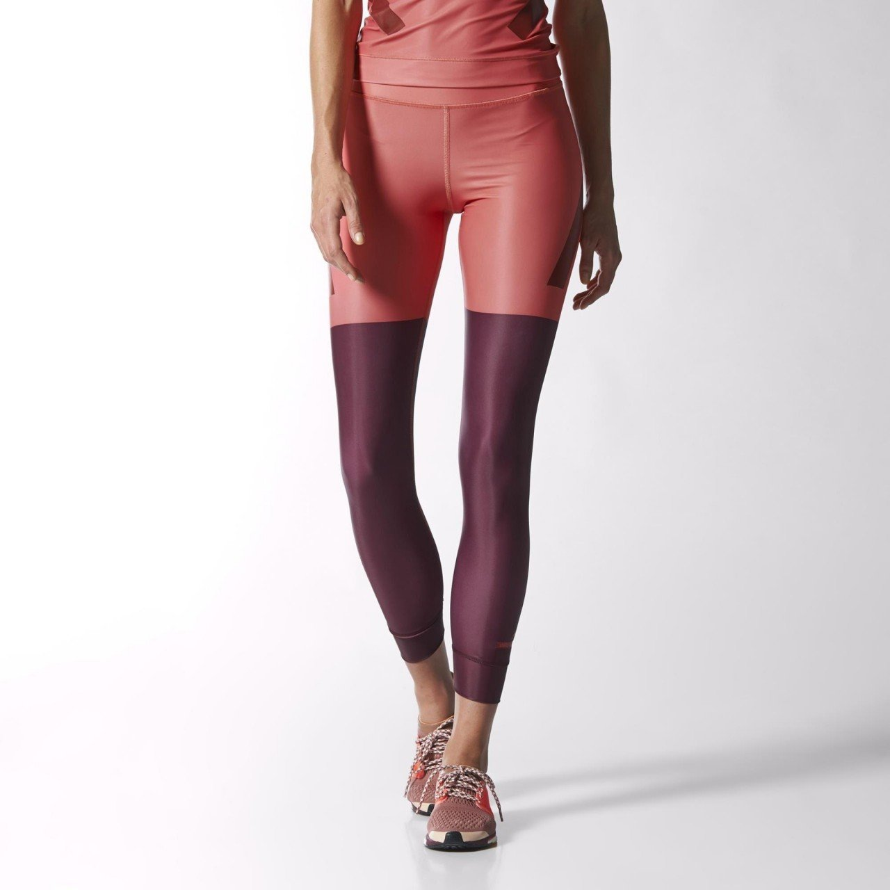 21238af208706 adidas by Stella McCartney Women's Techfit Running Tights - Pink/Maroon -  M: Amazon.co.uk: Sports & Outdoors