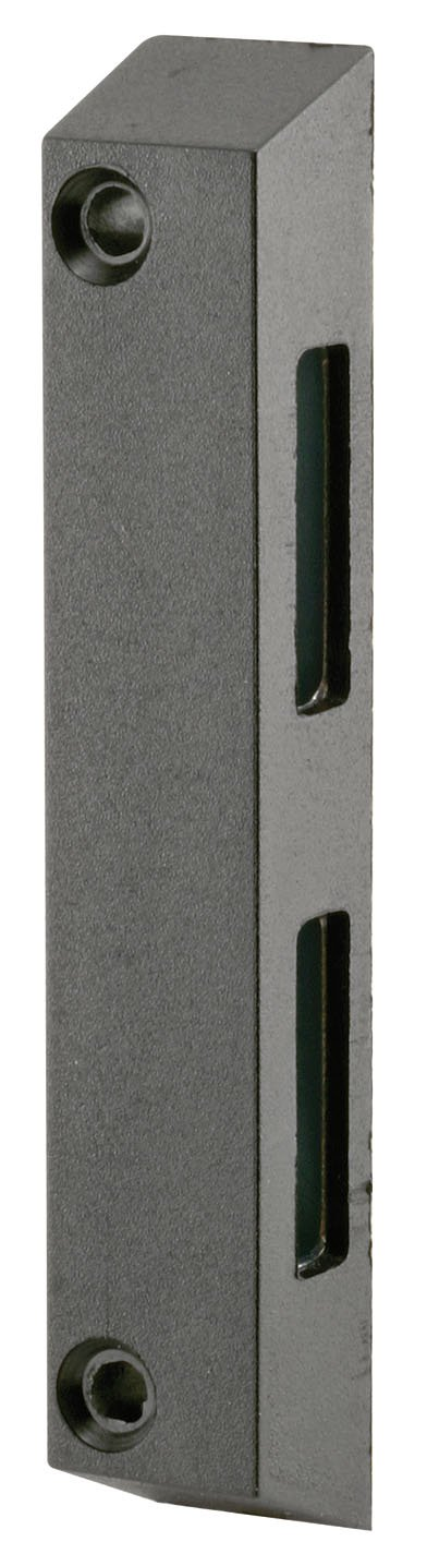 Prime Line Products E 2061 Sliding Door Keeper Side Mount Black