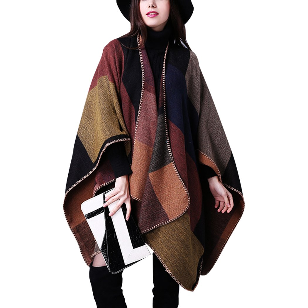 Ponchos Cardigan Sweaters For Women Shawls and Wraps For Women Plus Size