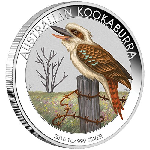 2016 AU Australian Kookaburra 2 dollars Brilliant Uncirculated 1oz Silver Coin