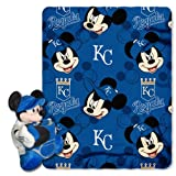 MLB Kansas City Royals 40x50-Inch Throw with 14-Inch Hugger