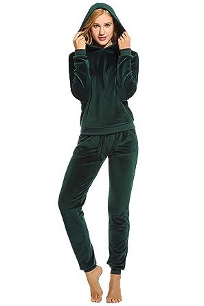 Chandal Mujer Hoodie Pantalones Pedazos 2 Y Set Otoño Invierno ...