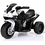 Costzon Kids Ride on Motorcycle, 6V Battery Powered 3 Wheels Motorcycle Toy for Children Boys & Girls, Electric Ride on…