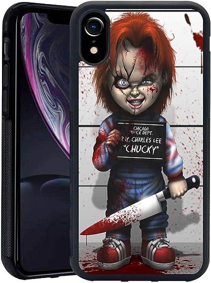 Chucky Doll Horror Art iphone case