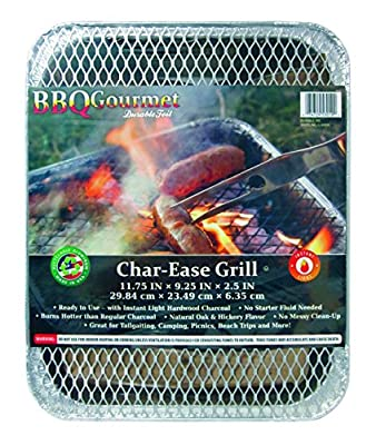 "Durable Foil Charcoal Grill Pan, 9-1/4"" x 11-3/4"" x 2-1/2"" (Pack of 24) by Durable Packaging"