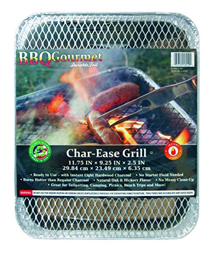 Durable Foil Charcoal Grill Pan, 9-1/4'' x 11-3/4'' x 2-1/2'' (Pack of 24) by Durable Packaging