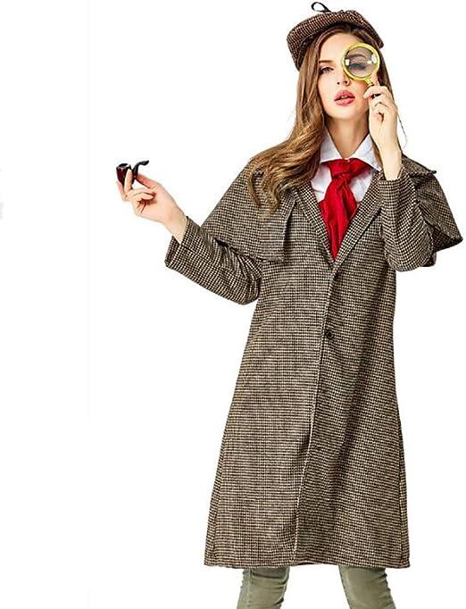 SHIXUE Disfraz Cosplay Sherlock Holmes Adulto Disfraz De Halloween ...