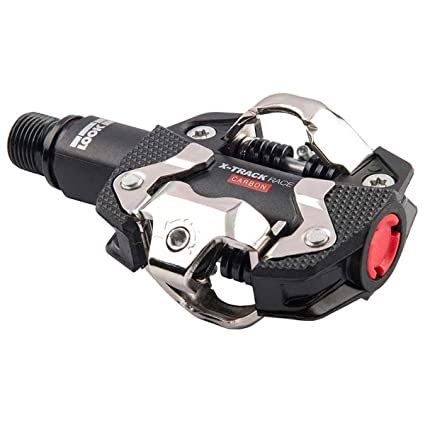 77828aaadf4 Amazon.com : Look Cycle X-Track Race Carbon Pedals Black, One Size ...