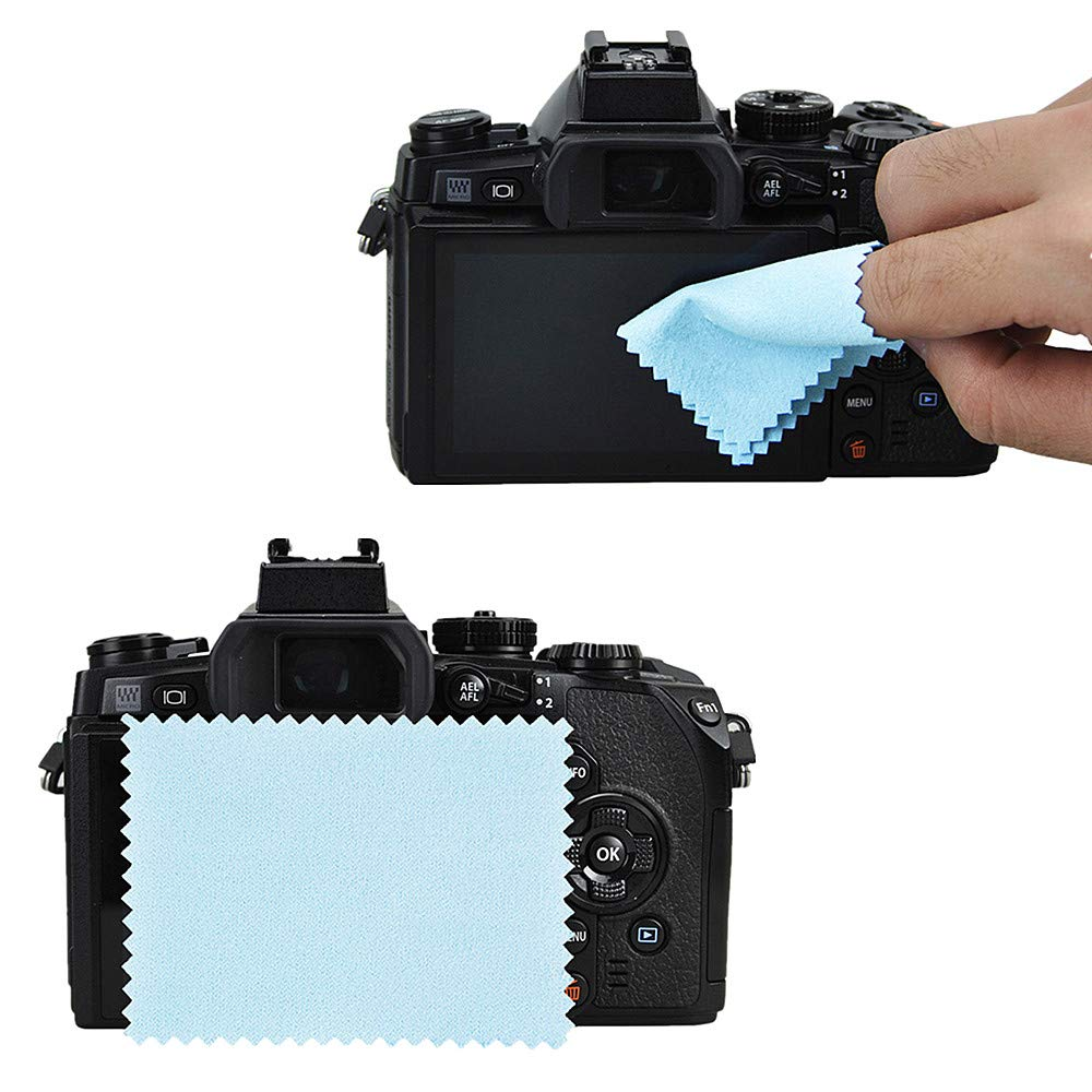 JJC Dedicated Optical Glass Camera Screen Protector Cover for Nikon Coolpix P1000 9H Hardness 2.5D Round Edges 0.3mm Ultra-Thin