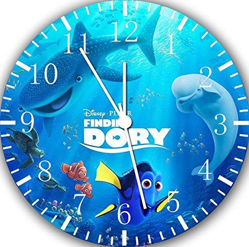 Borderless Finding Dory Nemo Frameless Wall Clock E190 Nice for Decor Or Gifts