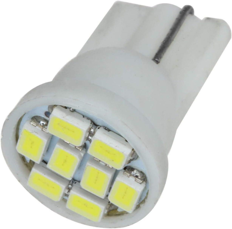 Partsam T10 194 LED Light bulb 168 LED Bulbs Bright Instrument Panel Gauge Cluster Dashboard LED Light Bulbs Set 6 T10 LED Bulbs