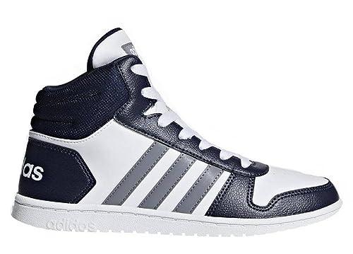 adidas Hoops Mid 2.0 K, Scarpe da Fitness Unisex-Bambini, Bianco (Ftwbla/Gritre/Negbas 000), 37 1/3 EU