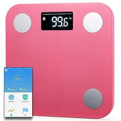 Yunmai Mini Báscula Inteligente - Peso & BMI y análisis de cuerpo + músculo y hueso