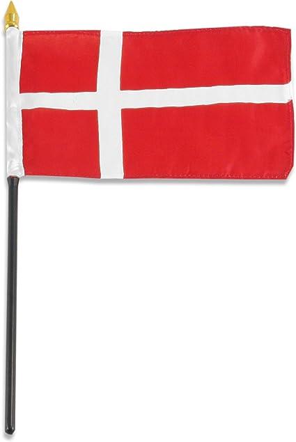 Amazon Com Us Flag Store Denmark Flag 4 By 6 Inch Outdoor Flags Garden Outdoor