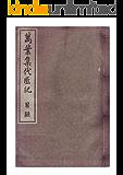 明治本,万葉集代匠記,目次巻(全24巻,22冊) (長野電波技術研究所)