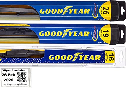 Amazon Com Windshield Wiper Blade Set Kit Bundle For 2010 2015