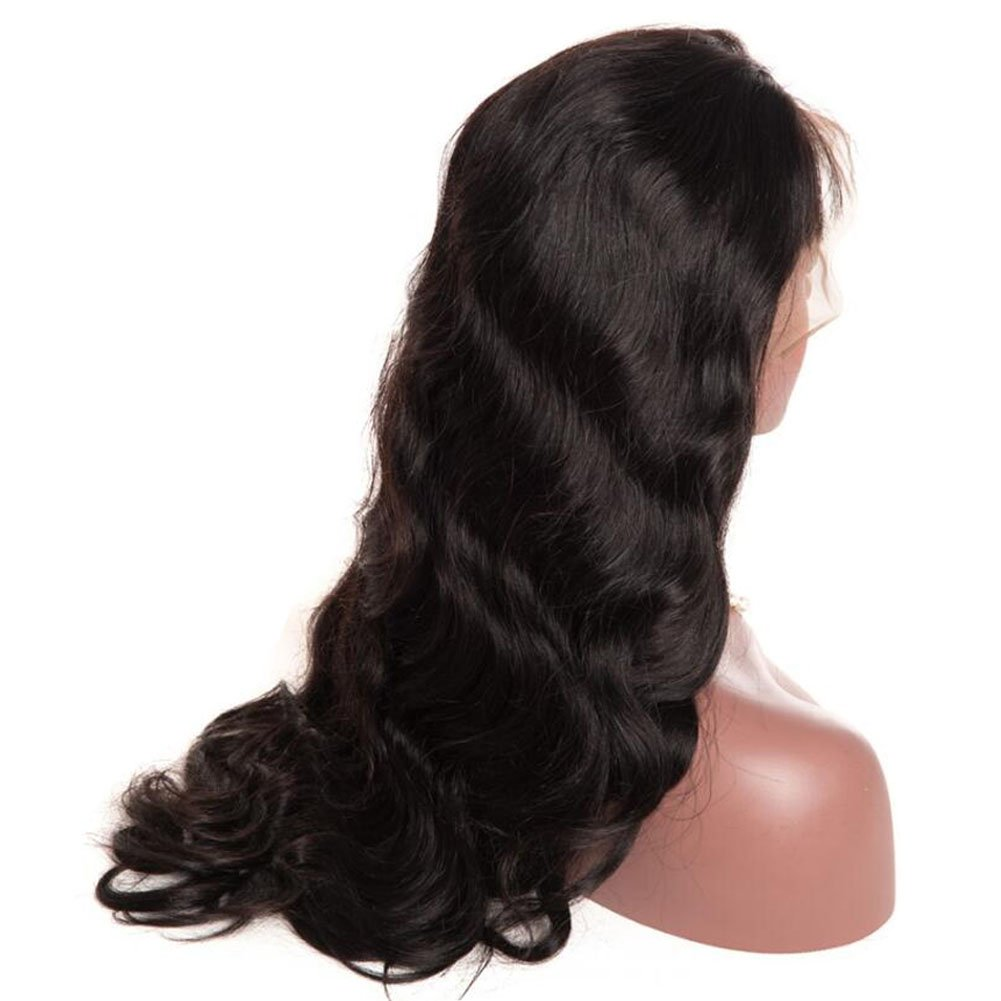 Glueless Body Wave Lace Front Wigs 24 inch Unprocessed Brazilian Virgin Human Hair Wig Pre Plucked Natural with Baby Hair Wig for Black Women by Younsolo (Image #3)