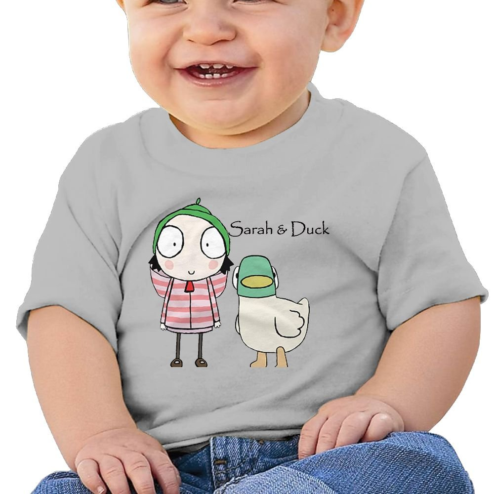 Edward Beck 6-24 Month Baby T-Shirt Sarah /& Duck Logo Fashion Classic Gray