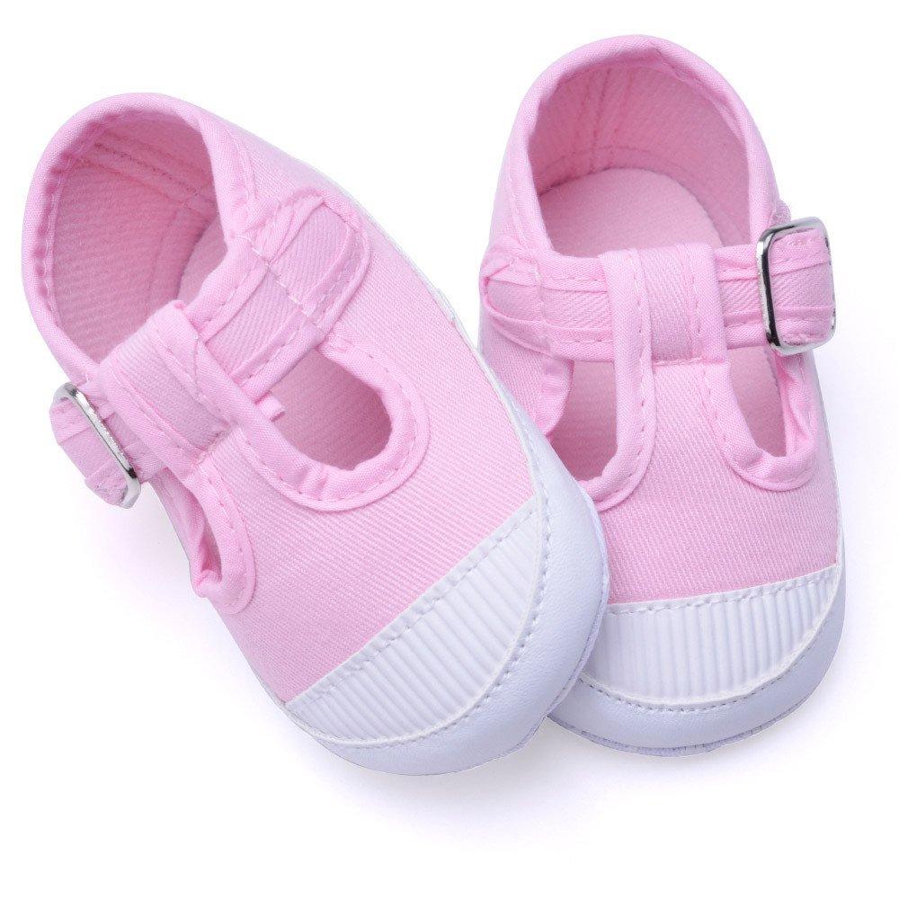 ❤ Zapatos de Lona Bebé recién Nacido Zapatos Antideslizantes Suaves Zapatos de niña Zapatillas de Cuna Absolute: Amazon.es: Ropa y accesorios