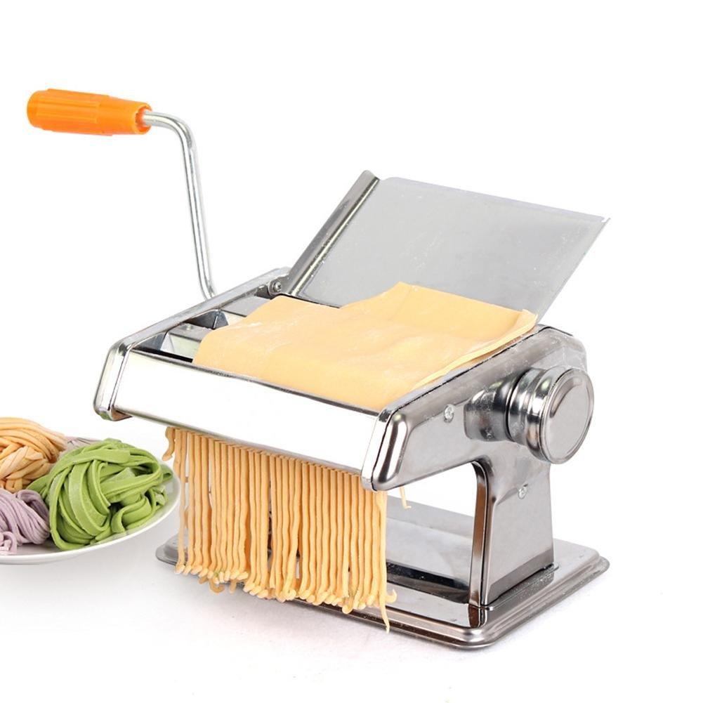 Vanpower Stainless Steel Pasta Maker Roller Machine For Spaghetti Noodle Fettuccine