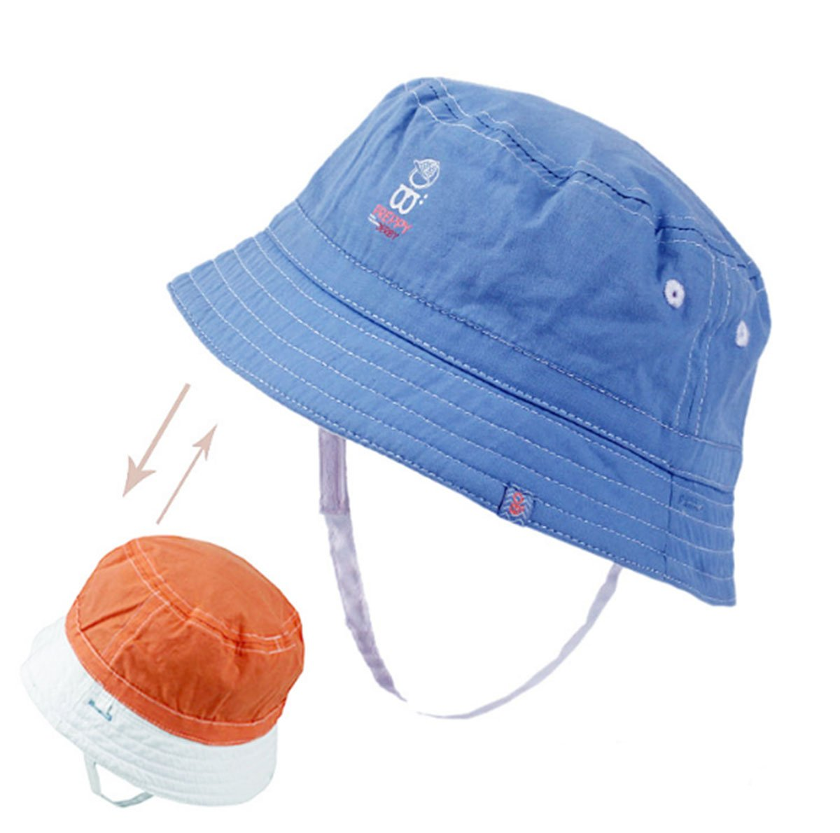 Sun Caps 2-in-1 Baby Sun Hats, Baby and Toddler Girls and Boys