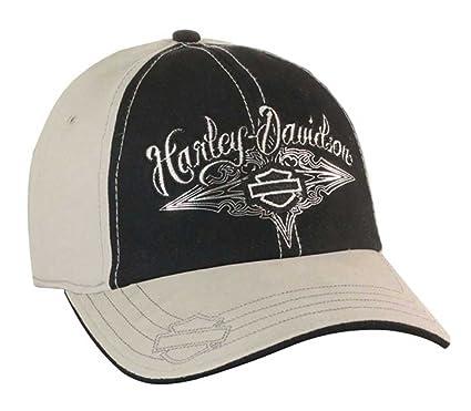 Harley-Davidson de las Mujeres Gorra de béisbol, Lustroso Bar ...