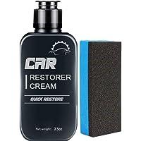Auto Leather&Plastic Refurbishment Paste Car Quick Restore Restorer Cream, Restores Faded and Dull Plastic and Rubber…