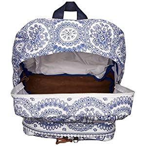 JanSport Unisex Right Pack Expressions White Swedish Lace Backpack