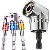 Socket Driver,Impact Driver Socket Adapter,Drill Screwdriver Bits,90 Degree Drill,Socket Set Drill,Right Angle Driver…