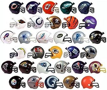 Amazon.com: Nuevo conjunto de casco NFL 2017. Todos los 32 ...