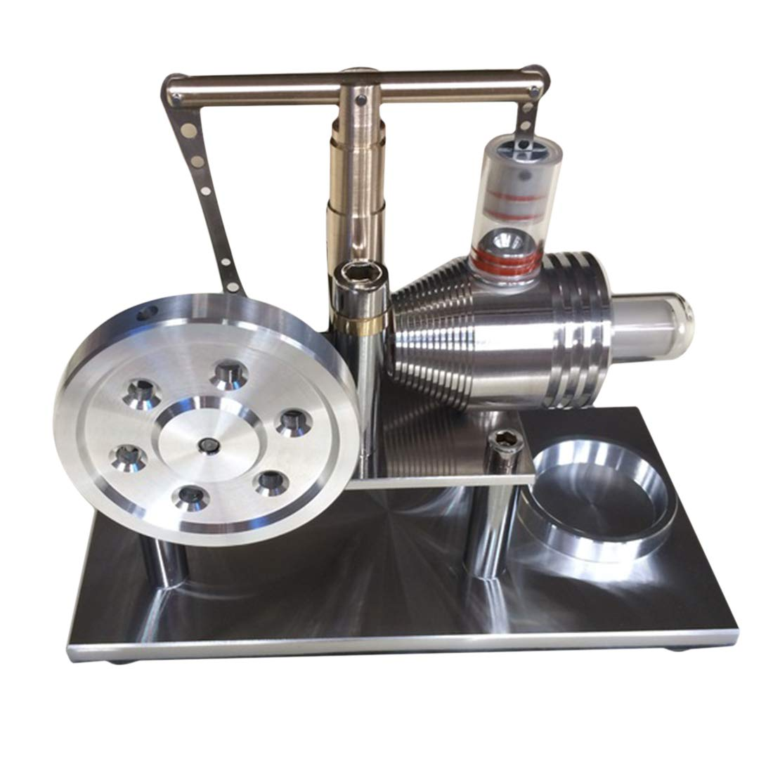 LDB SHOP DIY Dampf Gleichgewicht Stirlingmotor Engine Education Modell STEM Spielzeug
