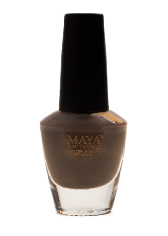 Amazon.com: MAYA Nail Lacquer (Cocoa Bean). Breathable, Halal, Made ...