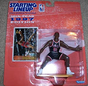 1997 Dennis Rodman NBA Starting Lineup Figure