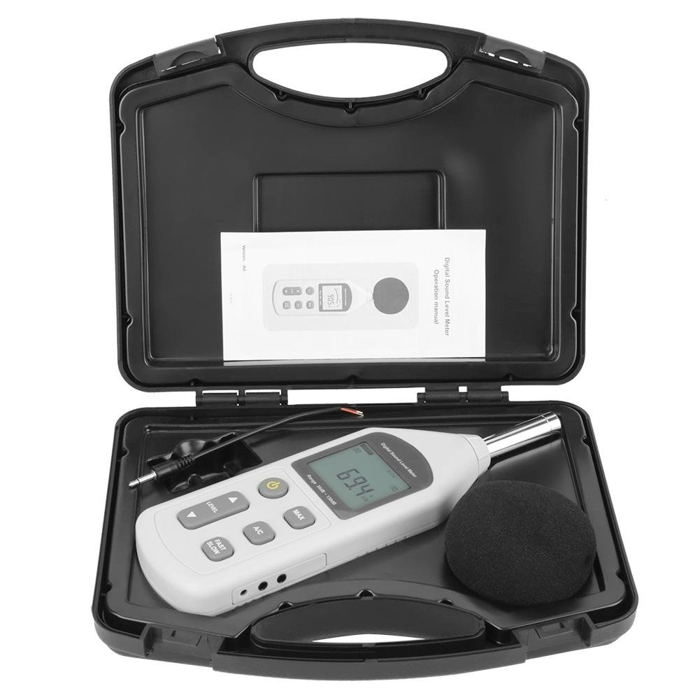 Akozon GM1357 Handy Mini Digital Noise Meter Sound Level Meter Noise Measuring Instrument by Akozon (Image #4)