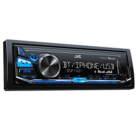 JVC KENWOOD KD-R889BT Radio de coche compatible para CD/AUX/USB/iPod/Bluetooth