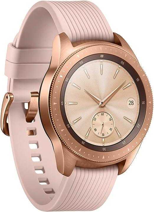 Samsung Galaxy Watch - Reloj Inteligente, Bluetooth, Oro-rosa, 42 ...