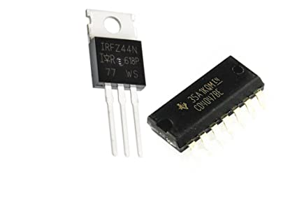Generic Irfz44N Power Mosfet 49V,60A With 4047 Ic For