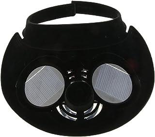 perfk Cappello Sportivo Da Esterno Con Cappuccio Per Ventilatore Ad Energia Solare